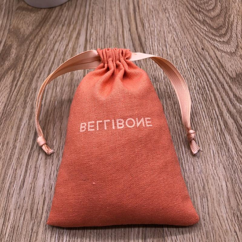 Розовая Желтая оранжевая светло-белая хлопковая Льняная сумка на шнурке