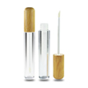clear with bamboo cap for lip gloss