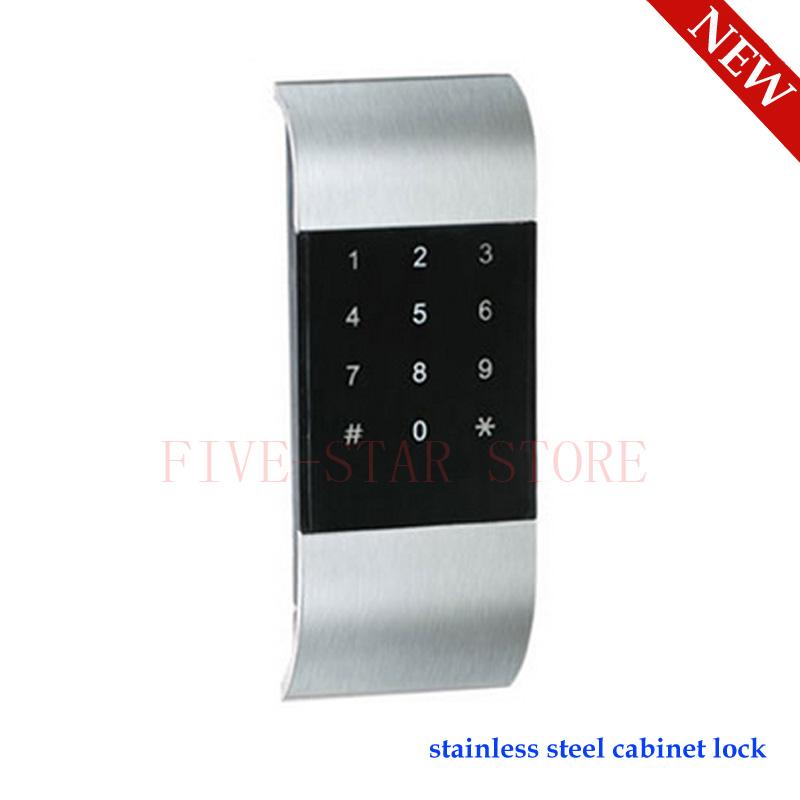 Ospon Os008c Digital Touchscreen Code Door Lock: NEW Stainless Steel Keyless Electronic Digital Password