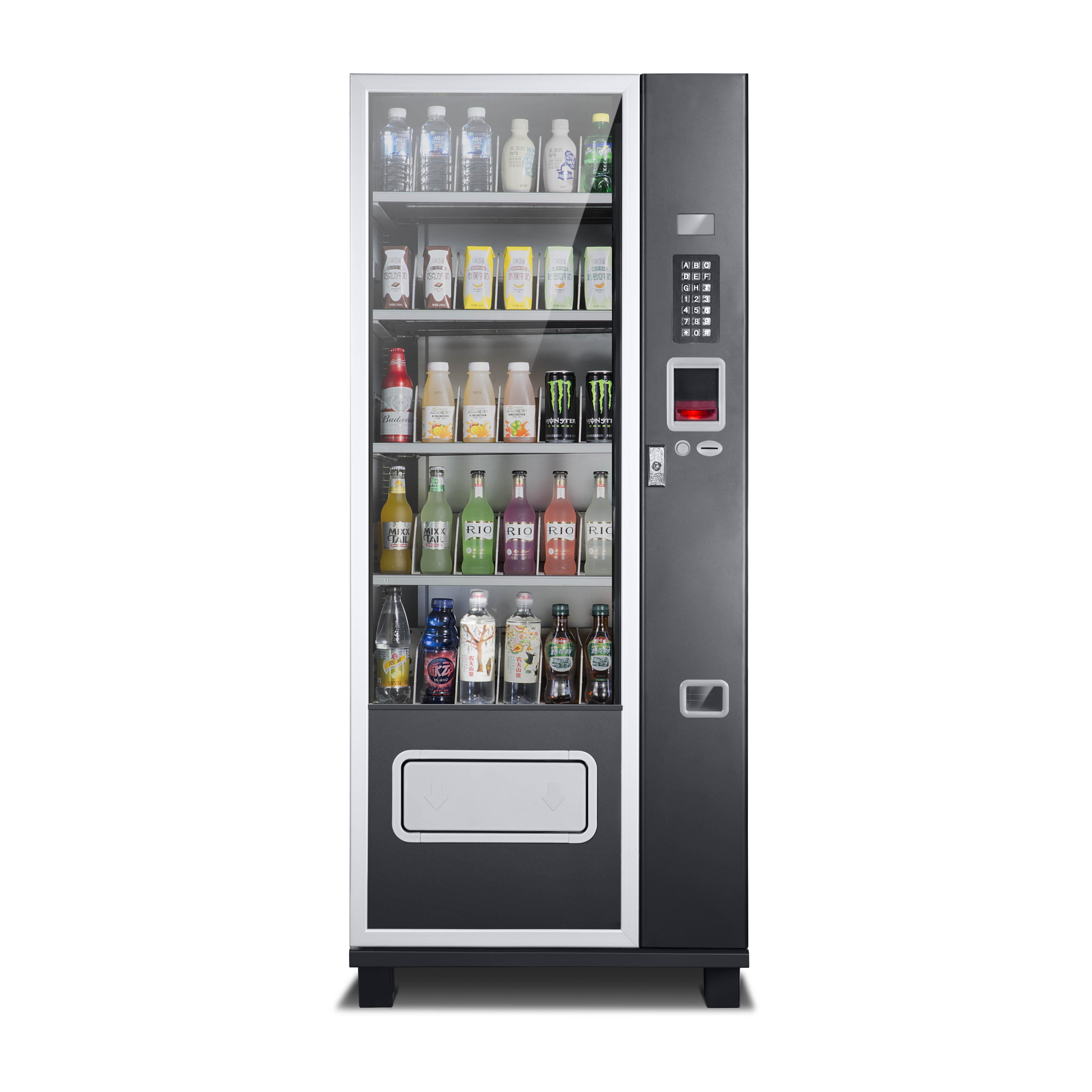 Комбинированный торговый автомат для закусок, напитков, используется в торговых центрах, больницах, школах, CE