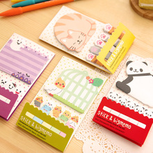1 Pics Panda Animal Cute Kawaii Stickers For Diary Sticky Notes Post It School Supplies Planner