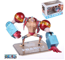 Japanese anime figure PVC doll toy Two Years Later One Piece franky PVC figure doll 18CM