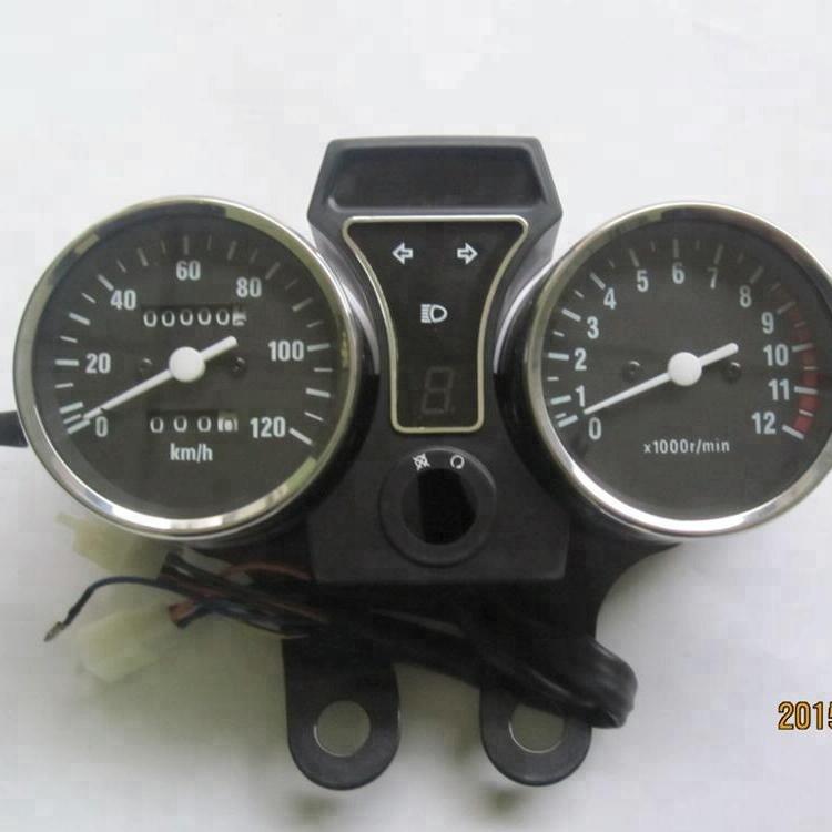 Factory Supply GN-125H Motorcycle Speedometer MOTO Kilometer Motos gauge
