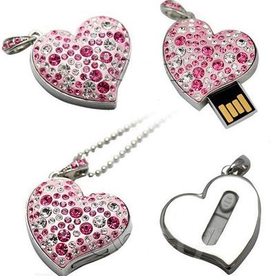 Top Fashion Gold Jewelry Diamond Guitar Shaped USB Pendrive USB 128MB 528MB 1GB 2GB 3GB 8GB 16GB flash usb drive u disk memory - USBSKY | USBSKY.NET