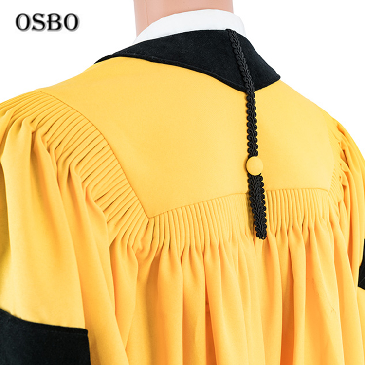 Wholesale good quality doctor academic graduation gown