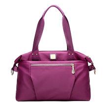 Женская модная сумка на плечо, водонепроницаемая сумка-Оксфорд, нейлоновая сумка-тоут для отдыха, дорожная сумка для хранения багажа(Китай)