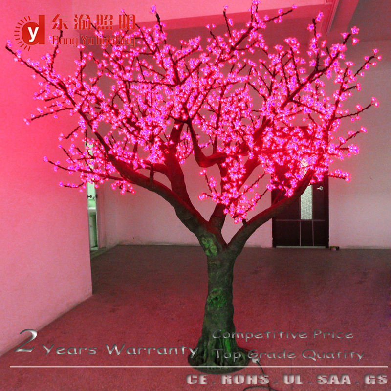 Outdoor Waterproof Lighted Up Cherry Blossom Tree For Christmas Tree Buy Light Up Cherry Trees For Christmas Tree Light Up Cherry Trees Artificial Lighted Trees Product On Alibaba Com
