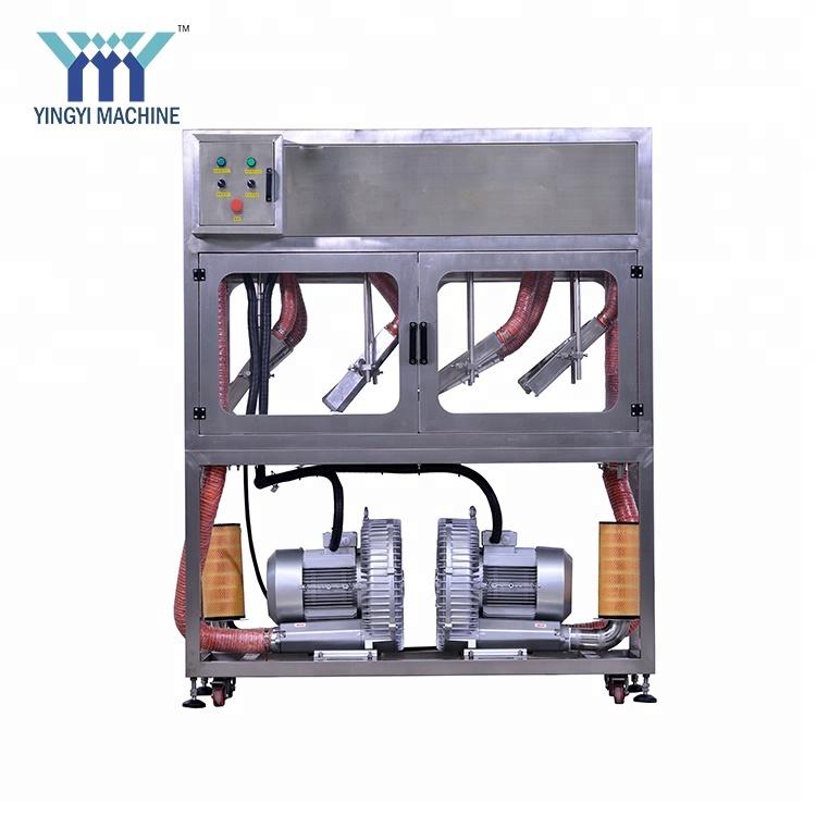 industrial juice bottle dryer machine