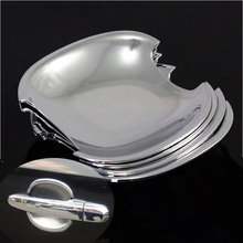 For Hyundai Tucson 2004 2005 2006 2007 2008 2009 2010 New Chrome Car Door Handle Cup Bowl Cover Free Shipping