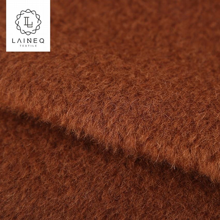 korea design for overcoat wool/alpaca blends fabric