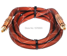 Free Shipping HIFI Digital optical audio cable Choseal  YF3102-3103 1m 2m not DIY