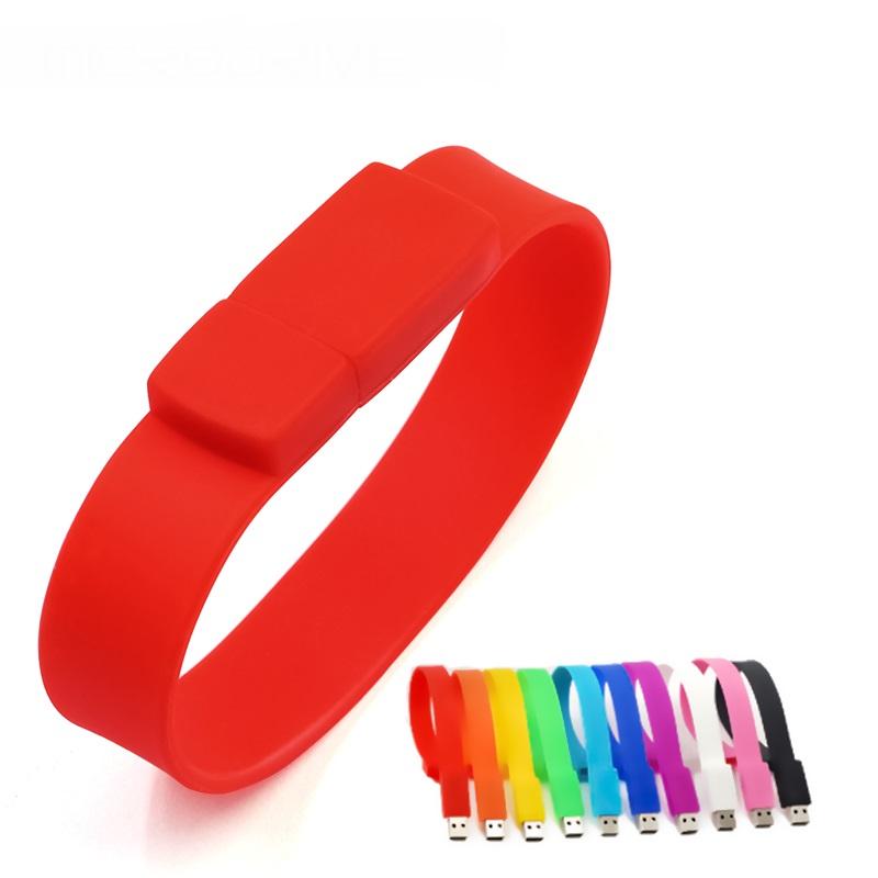 Fashion Wrist Strap Usb Flash Drive Cute Bracelets Pendrive 8gb 16gb 32gb Pen Drive Memory Stick Flash Card 64GB 128GB - USBSKY | USBSKY.NET