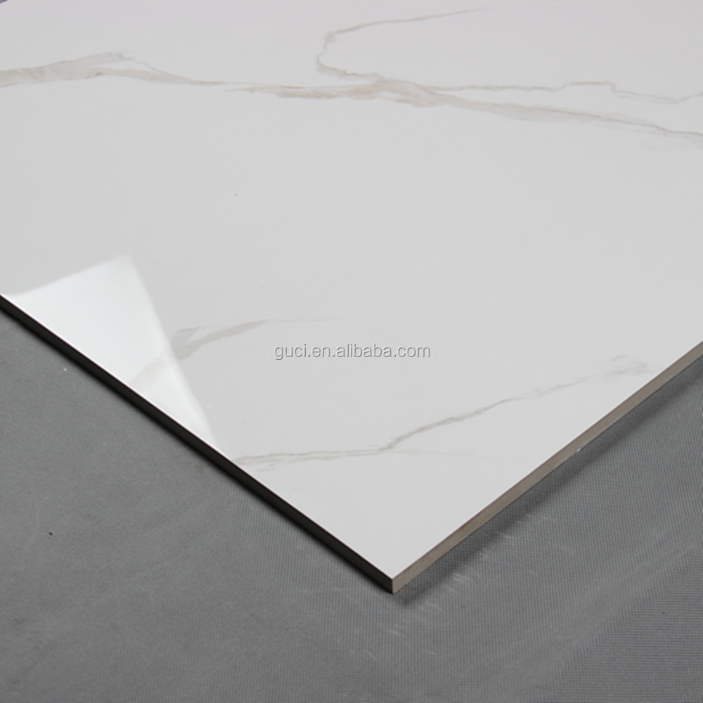 Cheap White Ceramic Floor Tiles 333x333x7mm 5 10 Sqm: Bedroom White Cheap Polished Marble Look Porcelain Tile