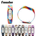 1 Pcs Rainbow Series for Xiaomi 2 for Miband 2 Smart Wristband Mi Band Silicone Strap
