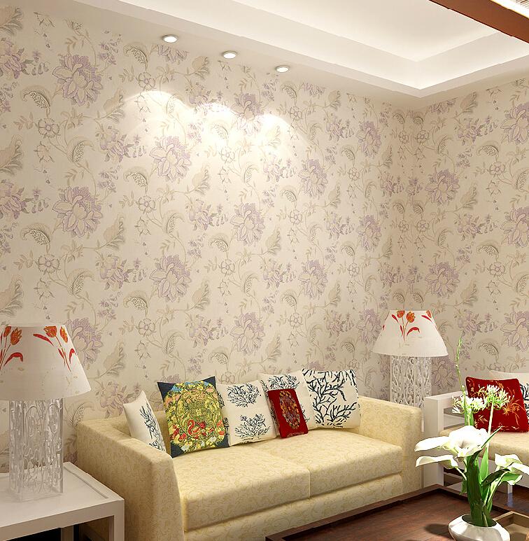 Floral Room Wallpaper: Download Flower Wallpaper Living Room Gallery