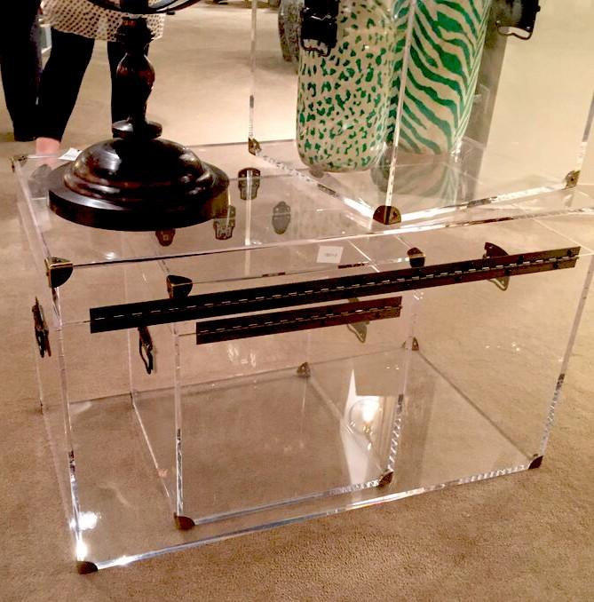 Прямая Заводская поставка, декоративный прозрачный акриловый ствол для гостиной