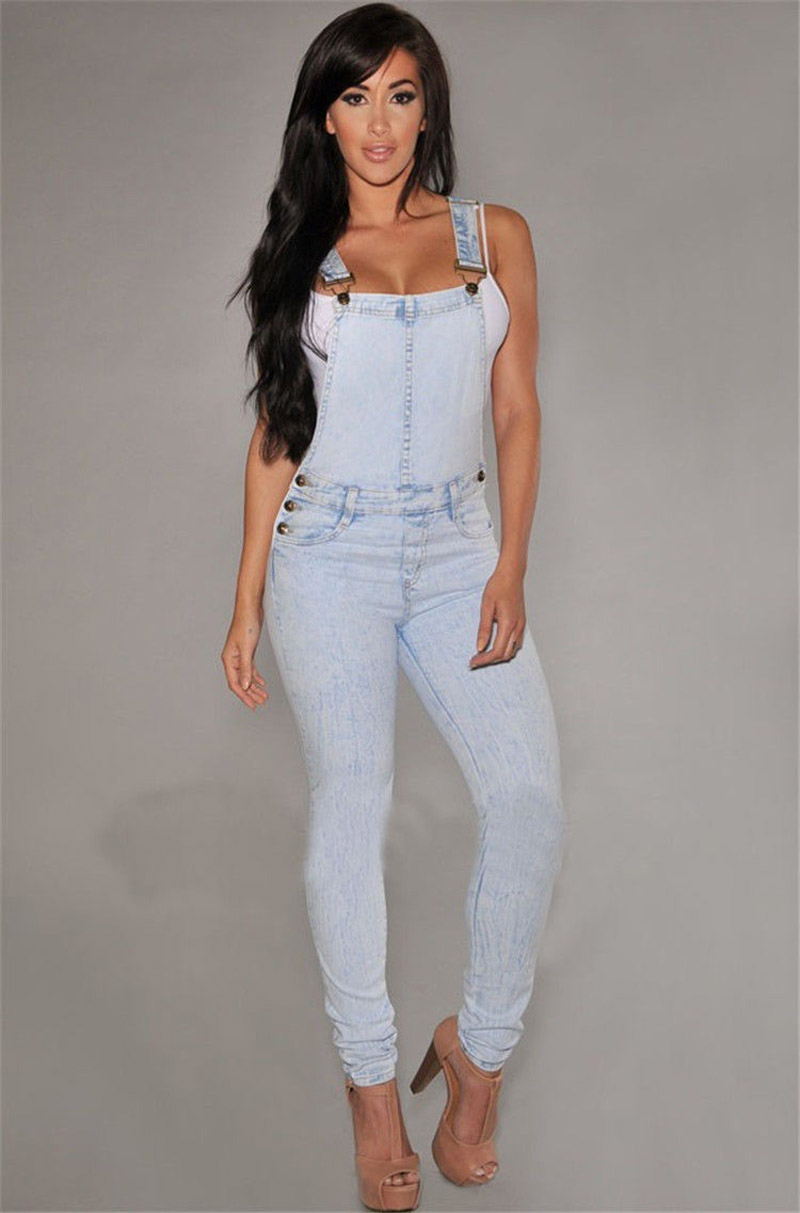 d7b9383a2af4 2019 Wholesale Women Girls Washed Jeans Denim Casual Hole Loose ...