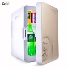 Kroak Mini 20L мини холодильник для домашнего использования, подогреватель для холодильника двойного назначения, регулятор температуры 12 В/220 В(Китай)