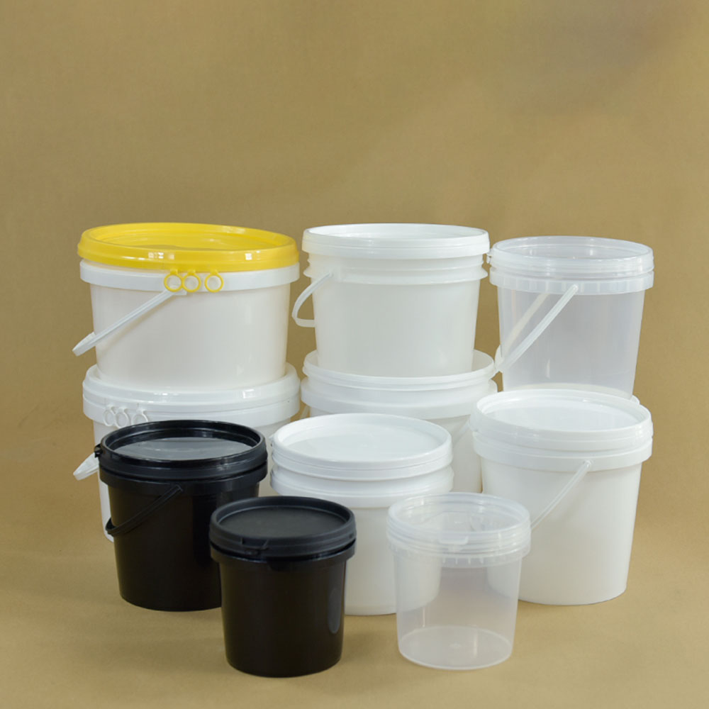 Пластиковое ведро для воды с ручками, крышки, маленький ведро для мытья, контейнер для песка, игрушек