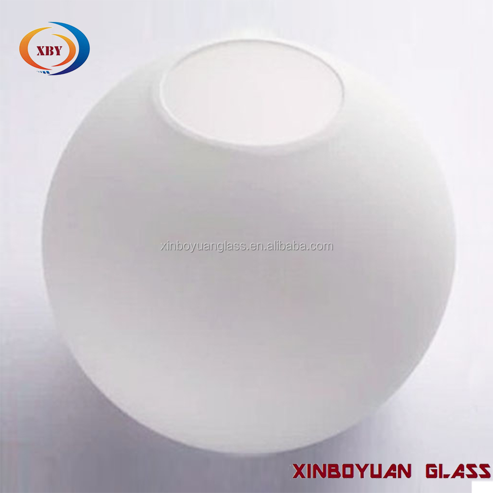 White Round Glass Ball Cover Lamp Frosted Glass Lamp Shade Buy Lampshade Lining White Opal Glass Lamp Cover Hanging Globe Lampshade Product On Alibaba Com