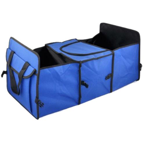 100% новый синий 2 in1 багажнике торговый аккуратный тяжелых складной хранения