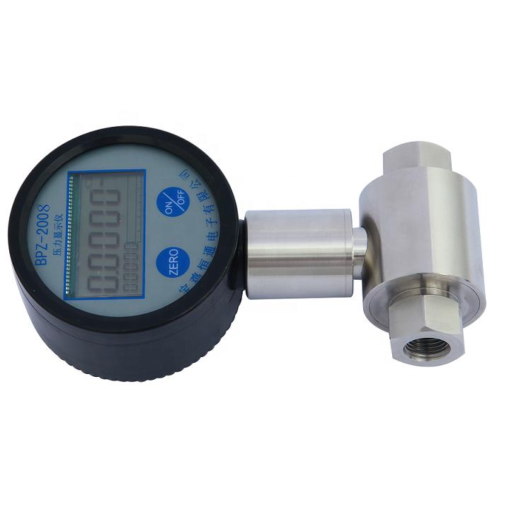 differential digital pressure gauge vacuum gauge Pressure difference at both ends Battery power differential gauge
