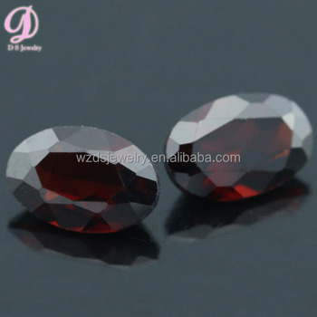 Good quality natural not fake red garnet stone wholesale cutting gems