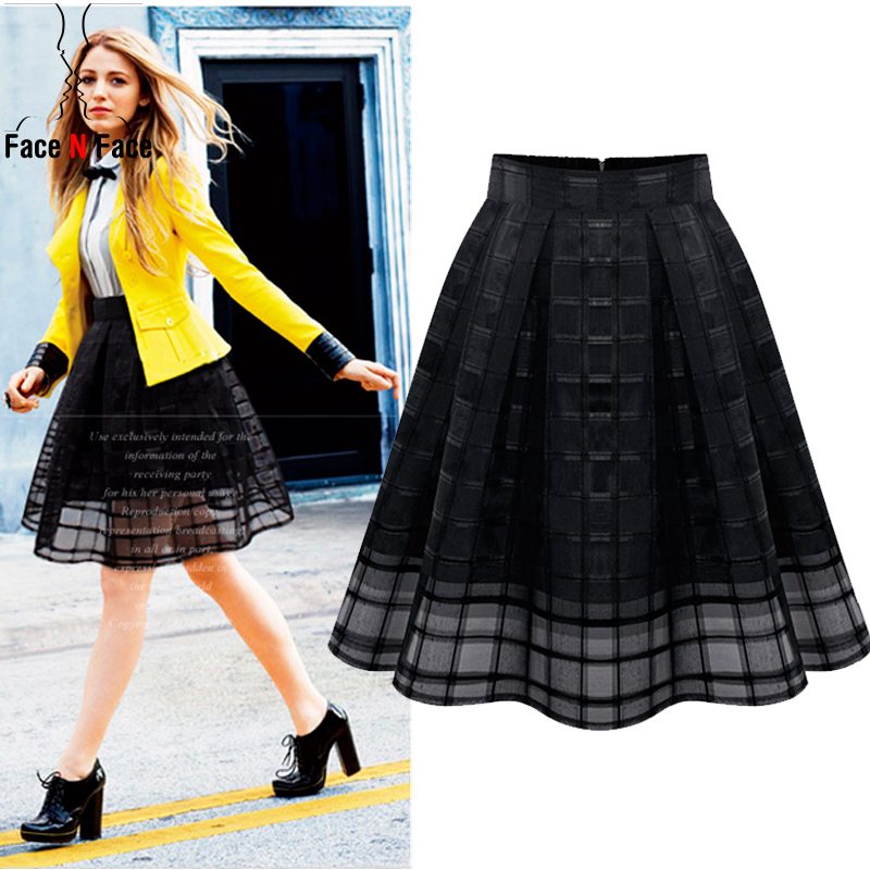 A Line Poofy Skirt Fashion Skirts