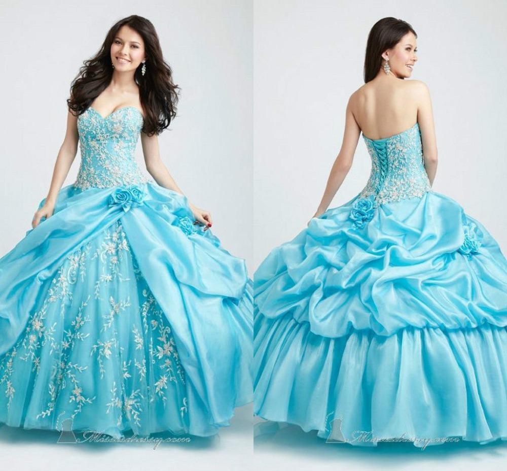 Aliexpress.com : Buy 2014 New Light Blue Long Lace ...