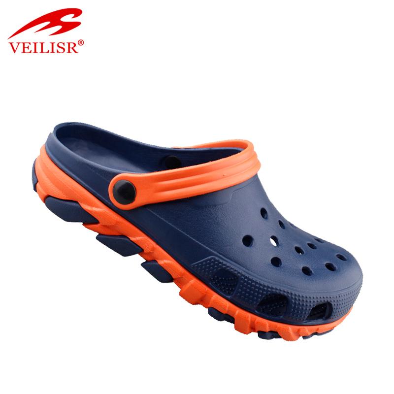 Оптовая продажа, летние пляжные сандалии EVA, садовые Мужские сабо