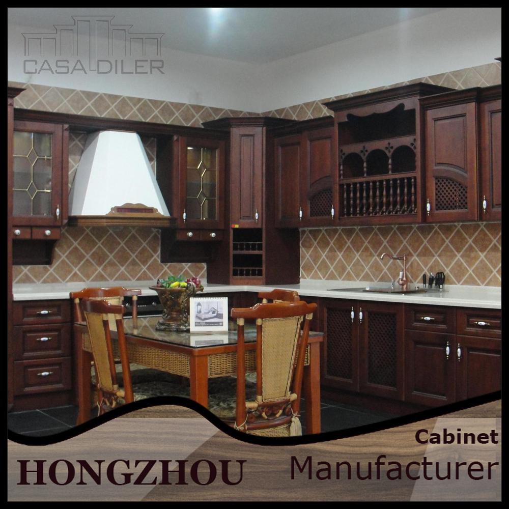 India Mahogany Wood China Kitchen Cabinets Buy Wood Kitchen Mahogany Wood Kitchen Cabinets Mahogany Wood Kitchen Cabinets Product On Alibaba Com
