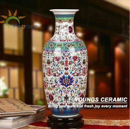 Beautiful Big Ceramic Pottery Flower Vases For Interior Design Buy Big Ceramic Pottery Vases Vase Interior Design Flower Vase Product On Alibaba Com