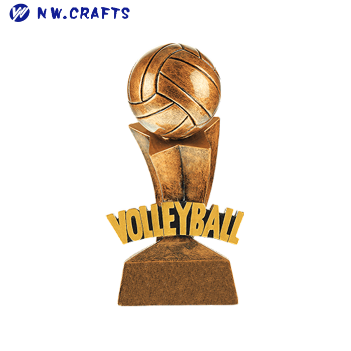 by DECADE AWARDS Volleyball 3D Gold Sports Stars Award  Volleyball SSR17