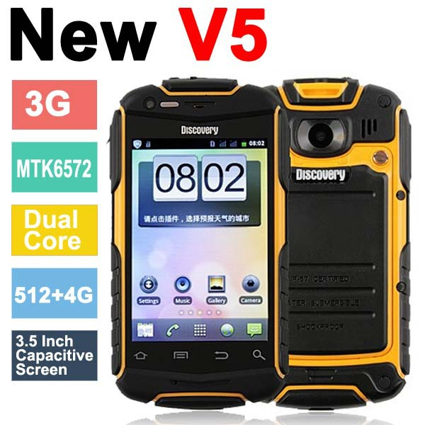 "HTM M3 MTK6572 Dual Core 1.3GHZ 5.0"" Andriod 4.2 Mobile Phone 4GB ROM 5MP"