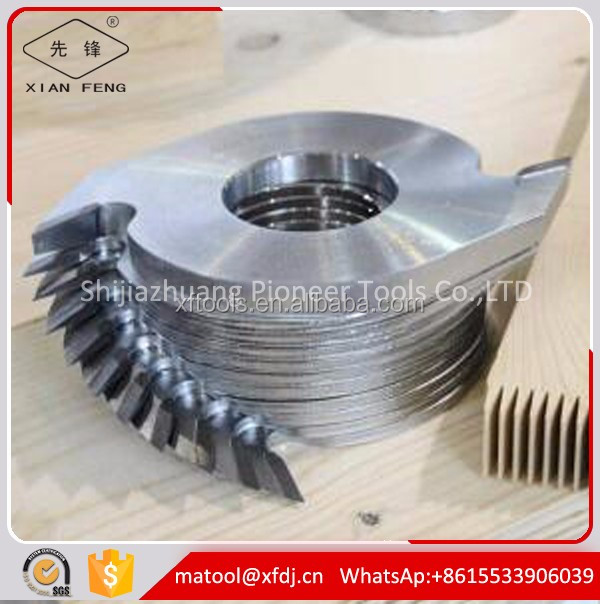 Carbide tools wood working finger joint cutter blade