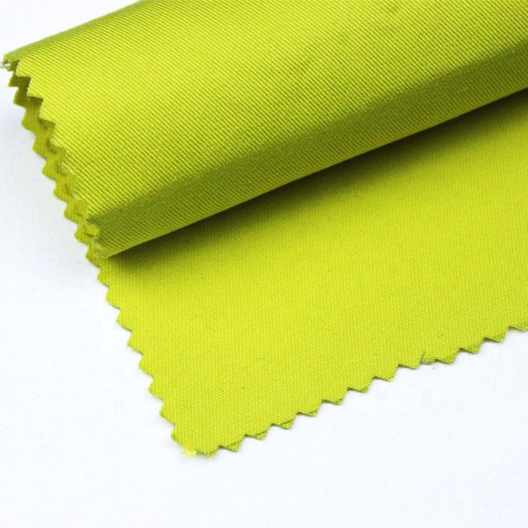 High Visibility Yellow 60% modacrylic 38% cotton 2% antistatic Fabric Modacrylic/cotton Blend Flame Retardant Antistatic