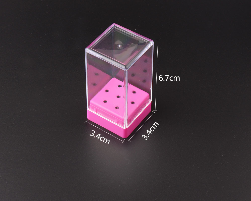 7 Holes Nail Tools Drill Bit Display Box