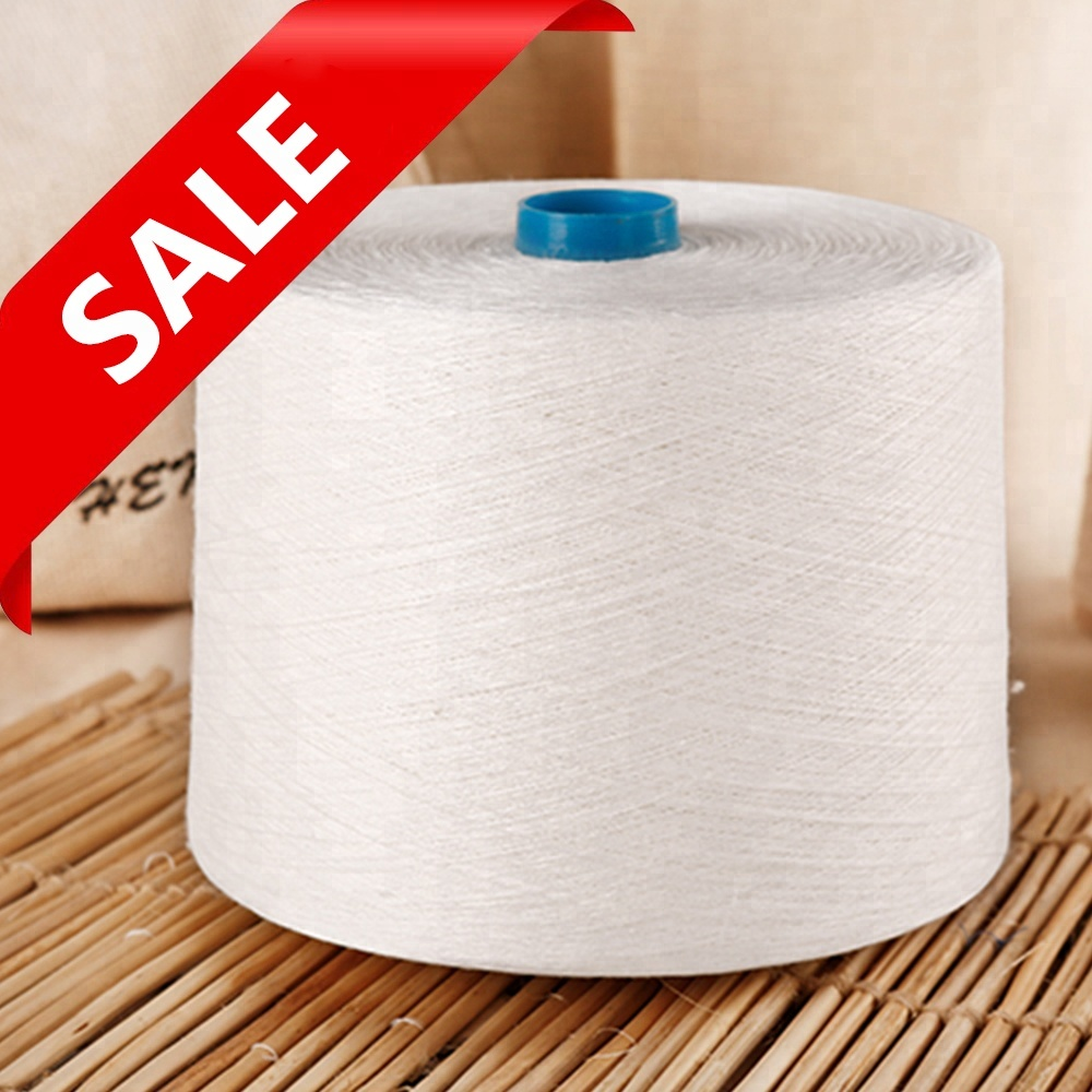 Поставка 55% конопляной пряжи/45% хлопчатобумажной пряжи 30Ne для плетения и вязания