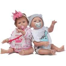 Мягкая силиконовая кукла NPK, 20 дюймов, ручная работа, Реалистичная, лучший рождественский подарок из силикона, кукла Bebes Reborn, игрушка для ванн...(Китай)