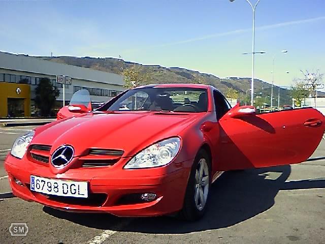 mercedes slk 200 cabrio rojo ferrari 05 usato auto nuove auto id prodotto 101227423 italian. Black Bedroom Furniture Sets. Home Design Ideas
