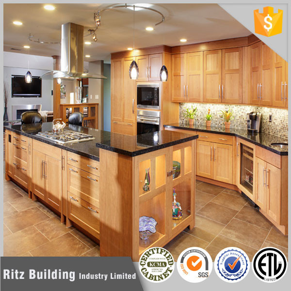 Display Kitchen Cabinets For Sale: Ritz Wood Commercial Display Kitchen Cabinets For Sale In