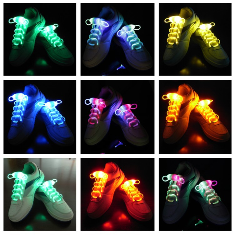 Bright Color Luminous Sneakers Shoelaces Glow in the dark
