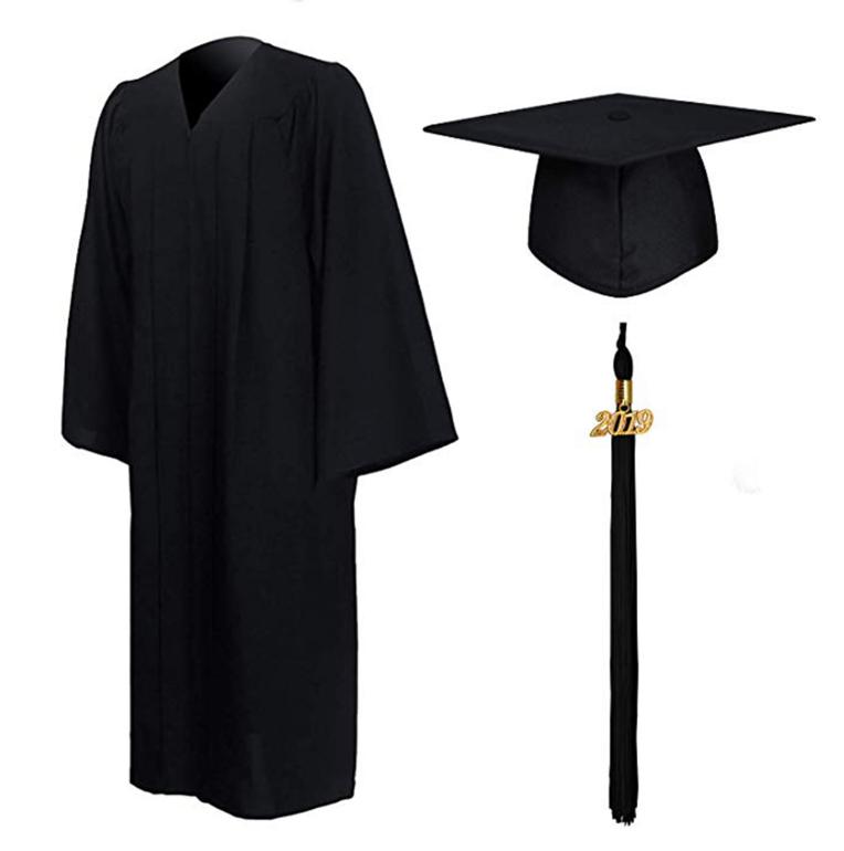 Wholesale Professional Graduation Apparel Manufacturer Advanced Degree Apparel Customization LOGO Bachelor's Gown Making