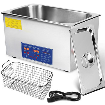 30L Ultrasonic Cleaner Heater Timer Bracket Jewelry Engine Block Ultrasonic Cleaning Machine
