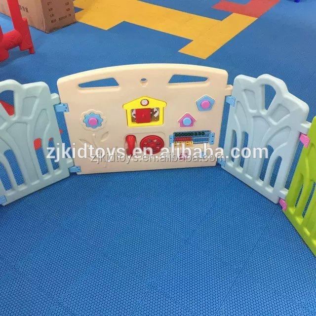 Недорогой пластиковый мини-забор для детей, Детский игровой забор для детского сада
