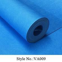 Современные обои домашний декор зеленый синий серый сплошной цвет простые шелковые обои рулон для стены спальни, гостиной, контактная бума...(Китай)