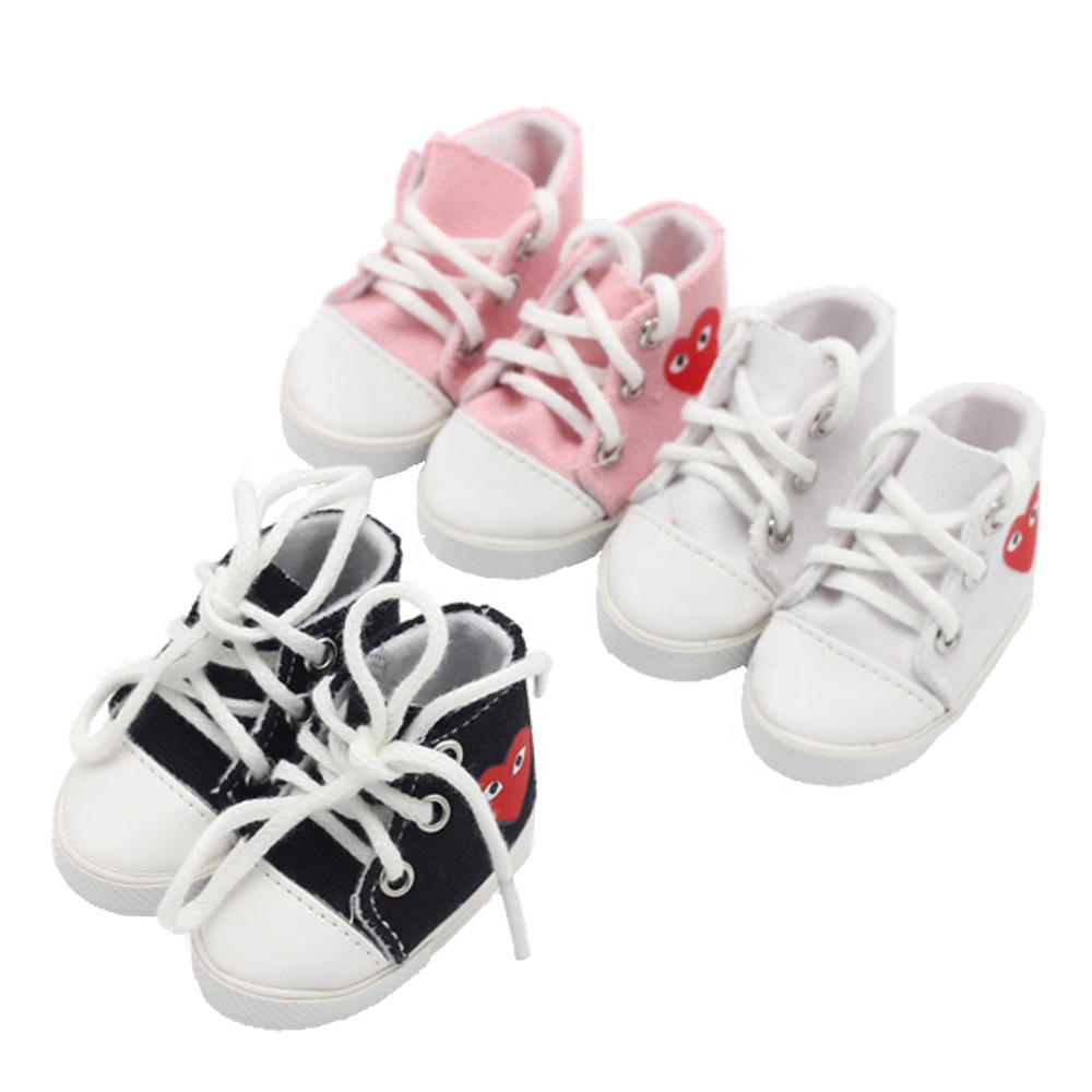 """EXO Dolls Shoes 14/"""" Milu Handmade Doll Accessories High Top Sneakers Hot"""