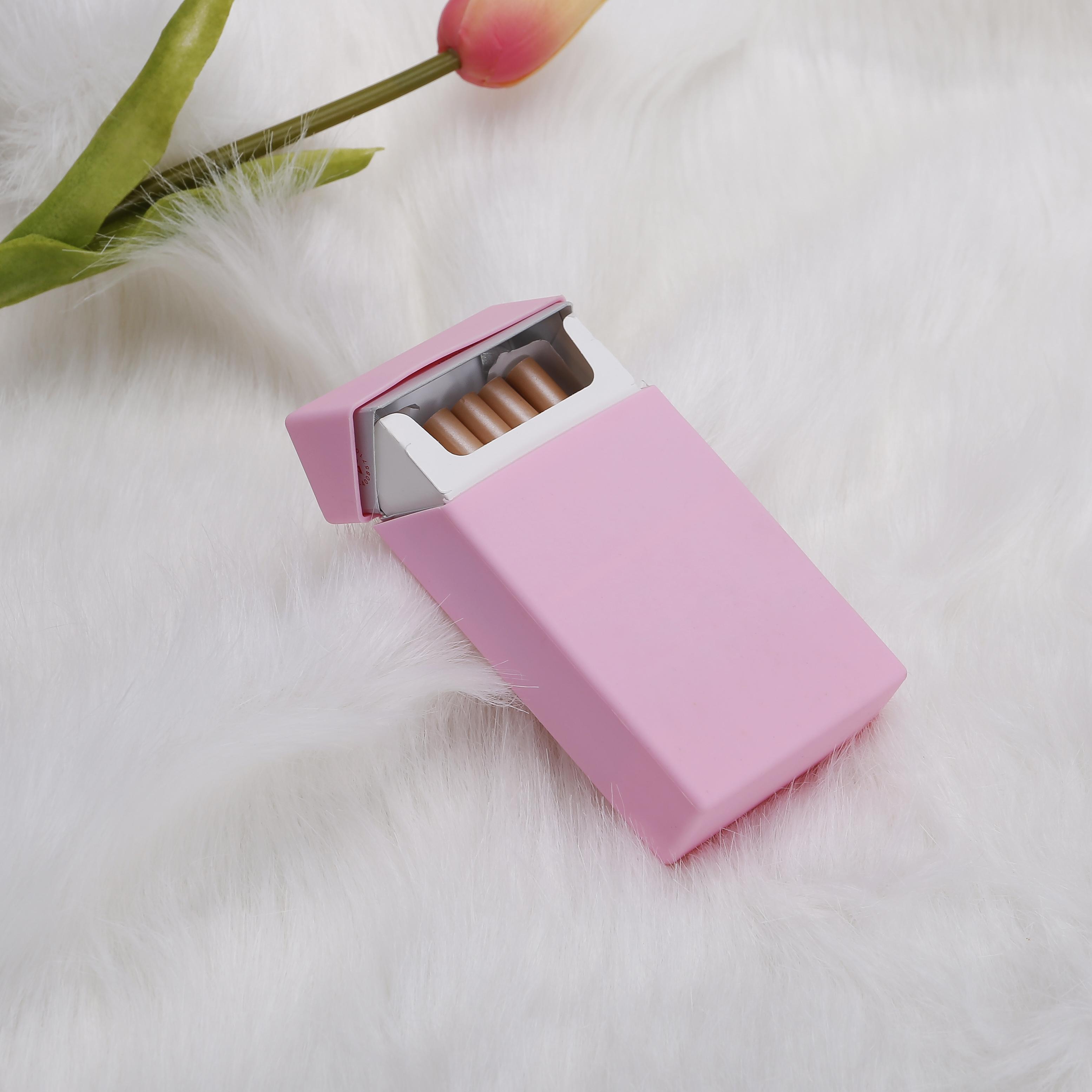 Портсигар силиконовая пачка для сигарет крышка