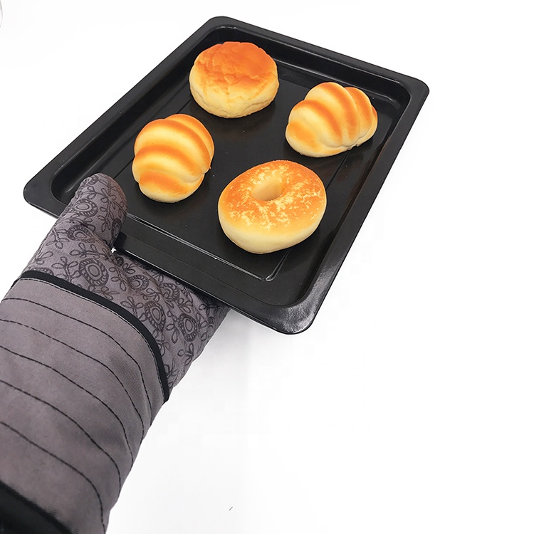 Heat Resistant Silicone BBQ Grill Oven Gloves Professional Silicone Oven Mitts