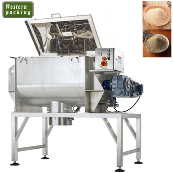 horizontal ribbon blender powder mixer